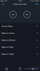 Alexa app smart home groups