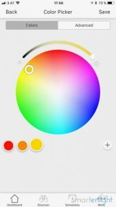 Editing your Rhythm Scenes palette