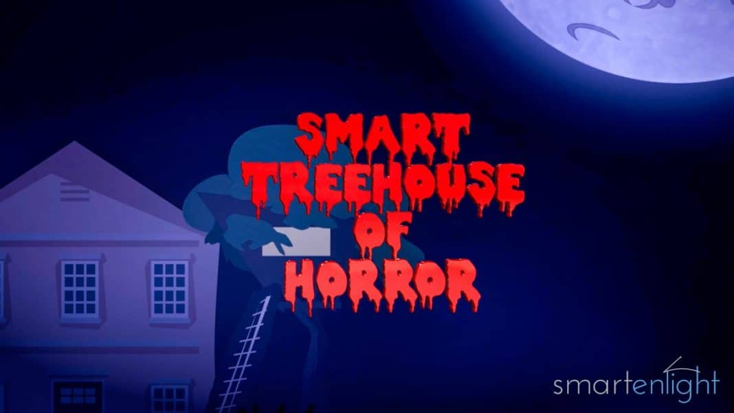 Cartoon Smart Treehouse of Horror