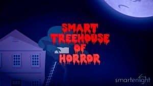 Cartoon Smart Treehouse of Horror