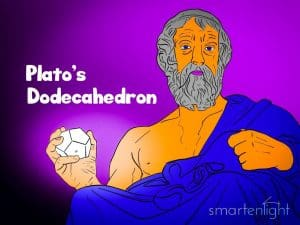 Illustration of Plato's Dodecahedron