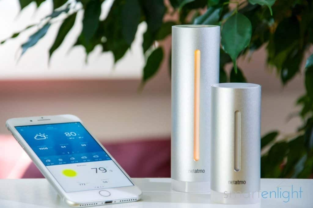 The Netatmo Weather Station Indoor Modules and the Weather App