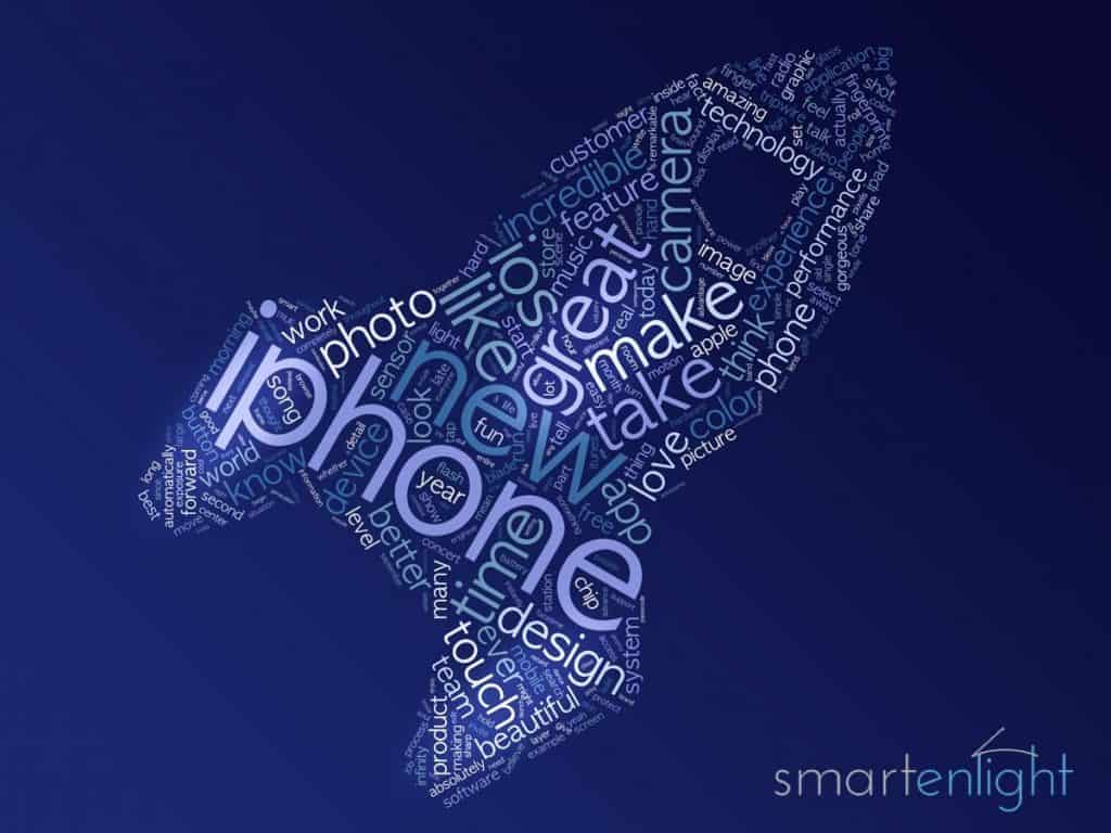 Illustration Apple Event 2013-09 in a Word Cloud