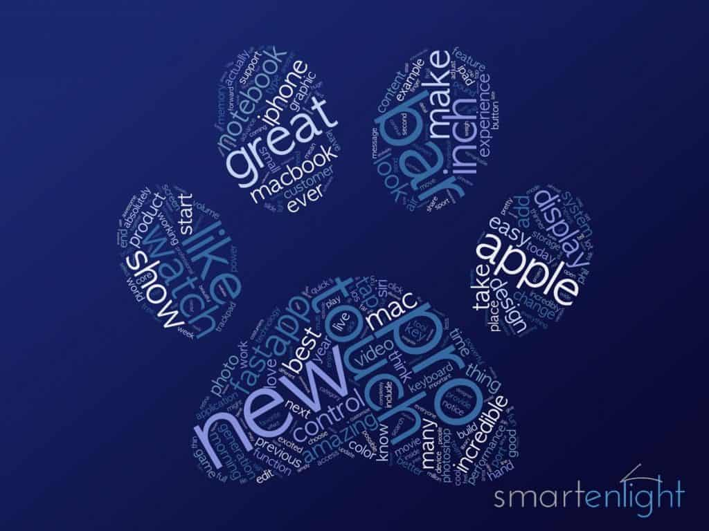 Apple's Event 2016-10 Word Cloud