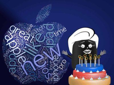 Happy 9th Birthday Siri! We count (on) you!