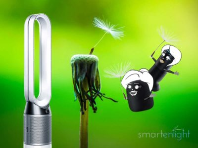Breathe! Dyson Pure Cool with Siri, Alexa and Google