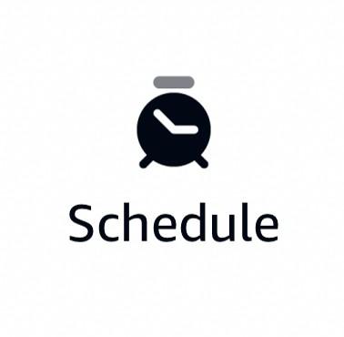 Alexa Routines Activations - Schedule Icon